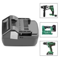 ARyee BSL1815X Replacement Battery Compatible with Hitachi BSL1830C BSL1815X BSL1815S BSL1830 BSL1860 330139 330557 Cordless Power Tools Series-Lithium-Ion Slide Style Battery (1)