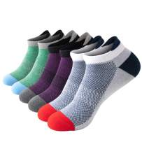 Running Socks Ankle Athletic Socks for Men & Women Low Cut Cushioned with Arch Support Tab Socks 6/8 Pairs