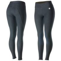 Horze Women's Knee Patch Active Tights Dark Blue