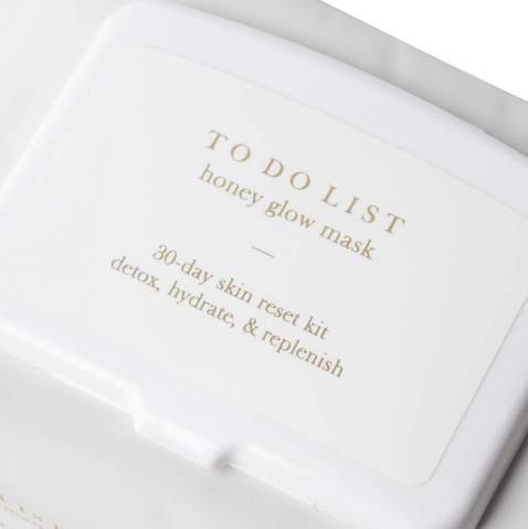 TO DO LIST – Honey Glow Mask | 30 Premium Sheet Masks in Eco-Friendly Packaging | Korean Skin Care For All Skin Types