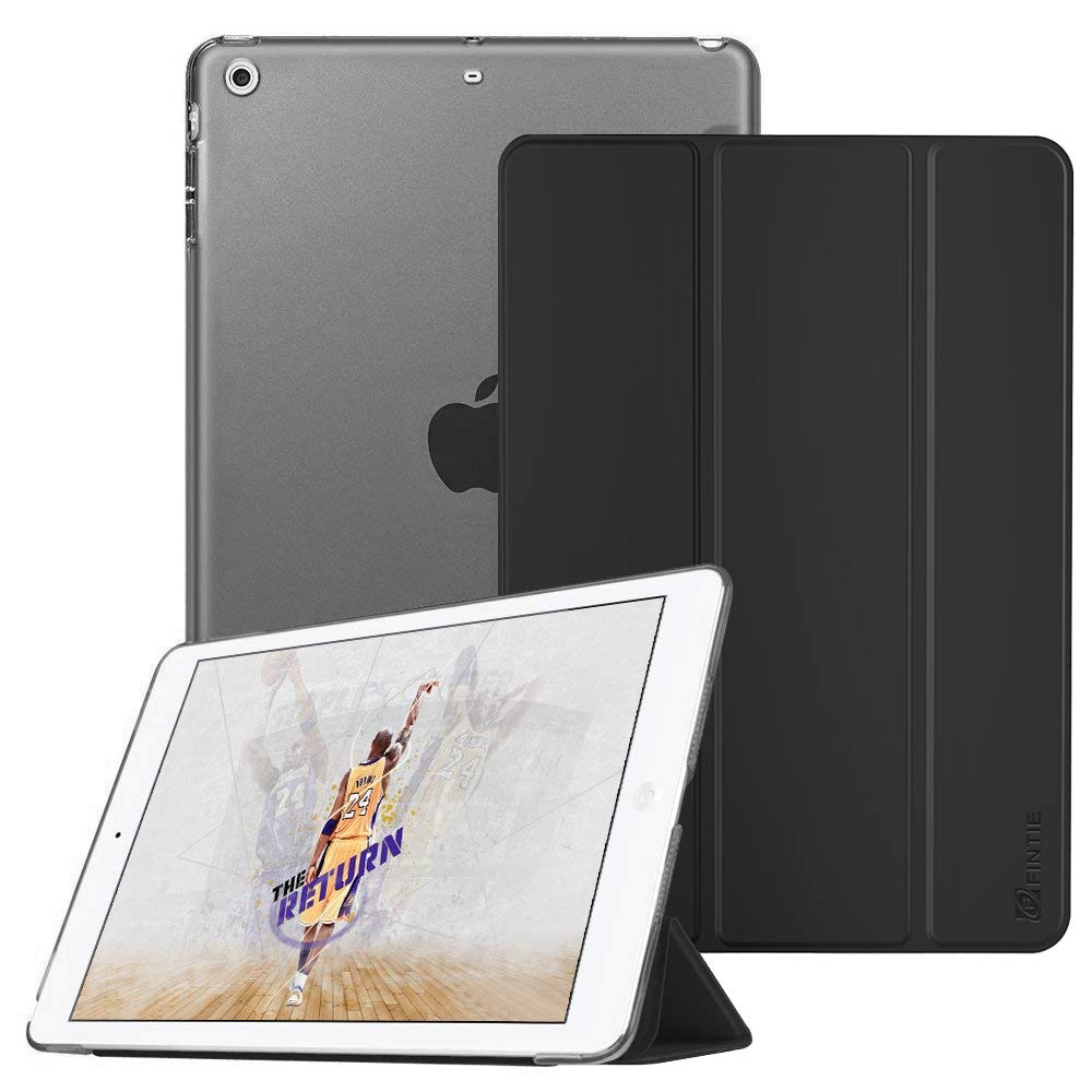 Fintie Case for iPad Mini 3/2 / 1 - Lightweight Smart Slim Shell Translucent Frosted Back Cover Protector Supports Auto Wake/Sleep for Apple iPad Mini 1 / Mini 2 / Mini 3, Black