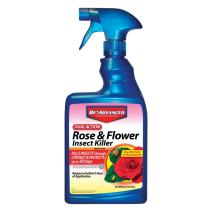 BioAdvanced  502570 Dual Action Rose and Flower Insect Killer Ready-To-Use, 24-Ounce