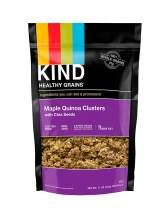 KIND Healthy Grains Clusters, Maple Quinoa with Chia Seeds Granola, Gluten Free, 11 Ounce Bag