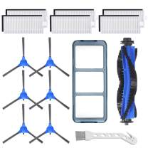 Replacement Parts kit for Eufy RoboVac 11S, RoboVac 30, RoboVac 30C, RoboVac 15C,RoboVac 12, RoboVac 35C, Robot Vacuum cleaner Accessory Kit ,6 Filters,6 Side Brushes,1 Main Brush,1 Pre Filter
