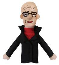 Michel Foucault Finger Puppet Magnet