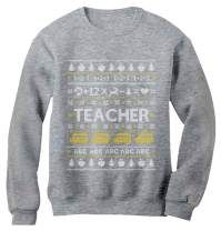 Teacher Ugly Christmas Sweater Funny Xmas Gift for Teachers Women Sweatshirt