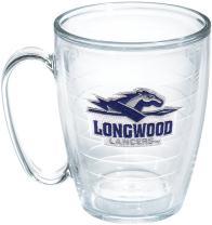 Tervis 1166277 Longwood Horse Spear Emblem Individual Mug, 16 oz, Clear