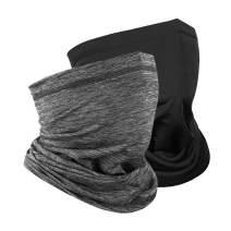 Summer Face Cover Men's Neck Gaiter Face Scarf Sun UV Protection Bandana Balaclava Cooling Dustproof UPF50++