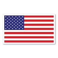 American Flag Rectangle Indoor Magnet