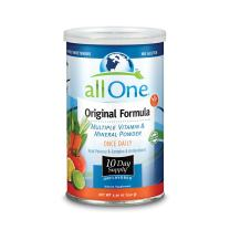 allOne® Multiple Vitamin & Mineral Powder, Original Formula | Once Daily Multivitamin, Mineral & Amino Acid Supplement w/8g Protein | 10 Servings