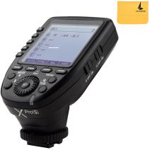 Godox XPro-S 2.4G TTL Wireless Flash Trigger Wirless X System High-Speed with Big LCD Screen Transmitter for Sony Camera