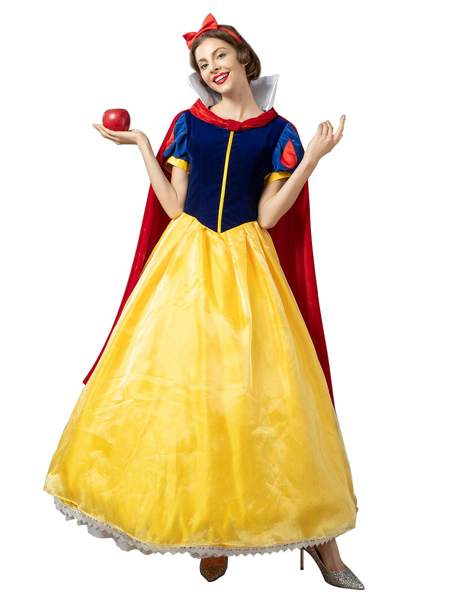 CosFantasy Deluxe Princess Snow White Cosplay Costume Ball Gown mp004784