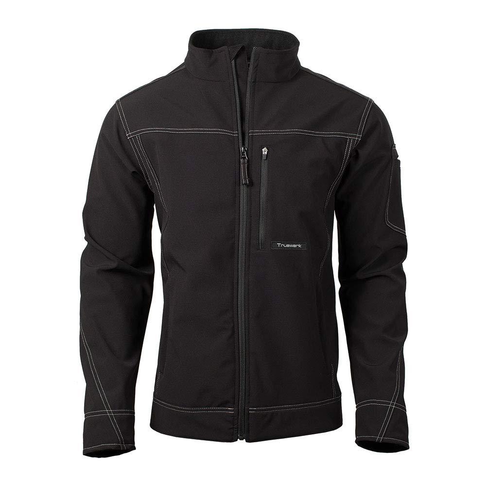 TRUEWERK Men's Softshell Workwear Jacket - T3 WerkJacket Advanced Technical Coat