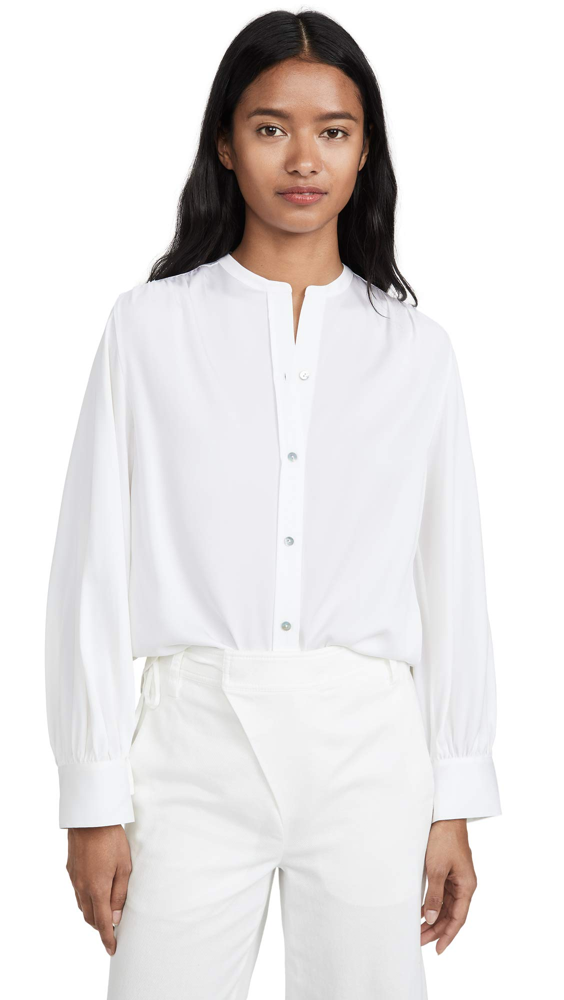 Vince Women's Shirred Back Blouse