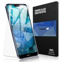 TopACE for Nokia 7.1 Screen Protector, Nokia 7.1 Tempered Glass 9H Hardness [Case Friendly][Anti-Scratch][Bubble Free] Compatible for Nokia 7.1 (Clear)