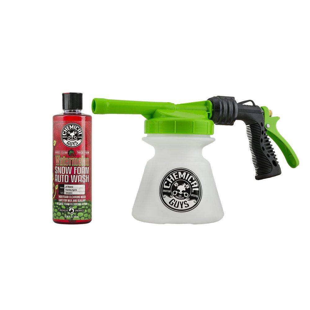 Chemical Guys EQP352 TORQ Gun R1 & Watermelon Snow Foam, 16. Fluid_Ounces