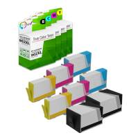 TCT Compatible Ink Cartridge Replacement for HP 902XL 902 XL Works with HP OfficeJet 6950 6954, Pro 6960 6968 Printers (Black T6M14AN, Cyan T6M02AN, Magenta T6M06AN, Yellow T6M10AN) - 8 Pack