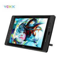 Drawing Monitor VEIKK 15.6 inch HD IPS Graphics Drawing Pen Display Tablet with 8192 Level Battery Free Stylus