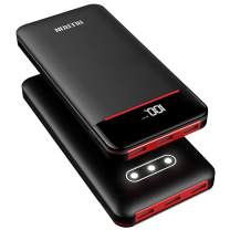 Power Bank 25000mAh Portable Charger Battery Pack with 3 Outputs & 2 Inputs Huge Capacity Backup Battery Compatible Smartphone,Tablet and More