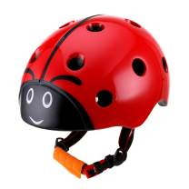 DR BIKE Kids Helmet Adjustable from Toddler to Youth Size, Ages 3 to 8 Years Old Boys Girls Multi-Sports Safety Cycling Skating Scooter Helmet (52-57cm/20.5-22.5inch)