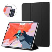 """GOOJODOQ Magnetic Smart Case for The iPad Pro 11"""" 2018-Strong Magnetic Ultra Slim-Support Apple Pencil Charging- Trifold Stand Case,Auto Sleep/Wake Cover for The iPad Pro 11 Inch 2018,Black"""