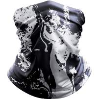 ALLYAG Bandana Face Mask, Neck Gaiter Face Scarf - UV Protection Face Cover - Breathable Windproof Dust for Sports Outdoors