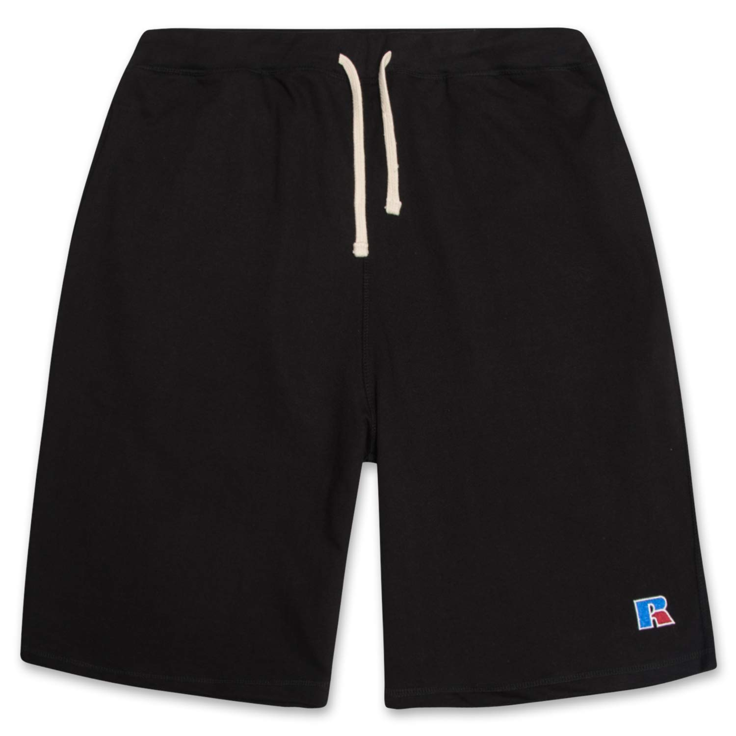 Russell Big and Tall Mens French Terry Athletic Shorts with Heritage R Embriodered Logo