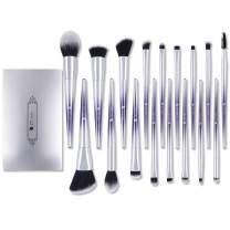 DUcare Makeup Brush Set 17 Pcs Professional Makeup Brushes Essential Cosmetics for Face Eyeshadow Lip Foundation Blending Brushes Kit