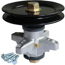 """boeray Lawn Mower Spindle Assembly for MTD 918-04124A 618-04124A Cub Cadet Tractor LT Series 42"""" Deck Oregon 82-402 Rotary 13001 Stens 285-846 TSB 602-0088 80-12-010 30-918-04124 with 4 Tapped Bolts"""