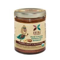 HNINA Gourmet Organic Sprouted Nuts & Raw Cacao Spread - Hazelnut + Almond