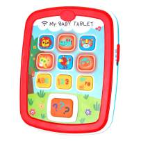 Infant Toys Baby Tablet Toys for 6 12 18 Month Old Boys and Girls with Music Learning ABC Numbers Color Baby Toys for 1 Year Old