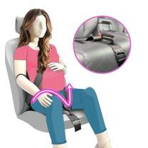 Maternity Seatbelt Adjuster, TUPSKY Car Pregnant Seat Belt Protection for Pregnant Women Belly Safety and Comfort Protect Unborn Baby (Black)