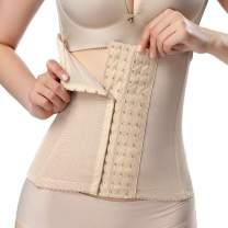 DEYACE Waist Trainer Corset for Women, Weight Loss Elastic Waist Cincher Tummy Control Body Shaper