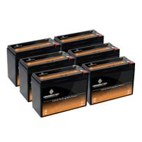 12V 10AH SLA Battery for Electric Scooter Schwinn S180 / Mongoose (6 Pack)