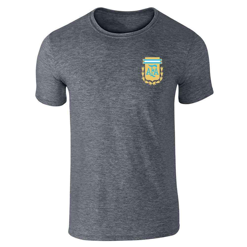 Argentina Futbol Soccer Retro National Team Sports Graphic Tee T-Shirt for Men