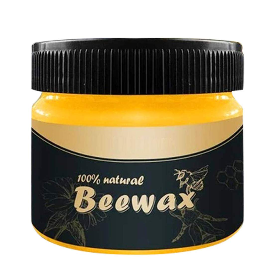 Wood Seasoning Beewax - Traditional Beeswax Polish for Wood & Furniture, All-Purpose Beewax for Wood Cleaner and Polish Wipes, Non Toxic for Furniture to Beautify & Protect