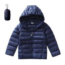 M2C Boys & Girls Ultralight Windproof Hooded Down Puffer Jacket