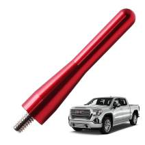 JAPower Replacement Antenna Compatible with GMC Sierra 1999-2006 | 3 inches-Red