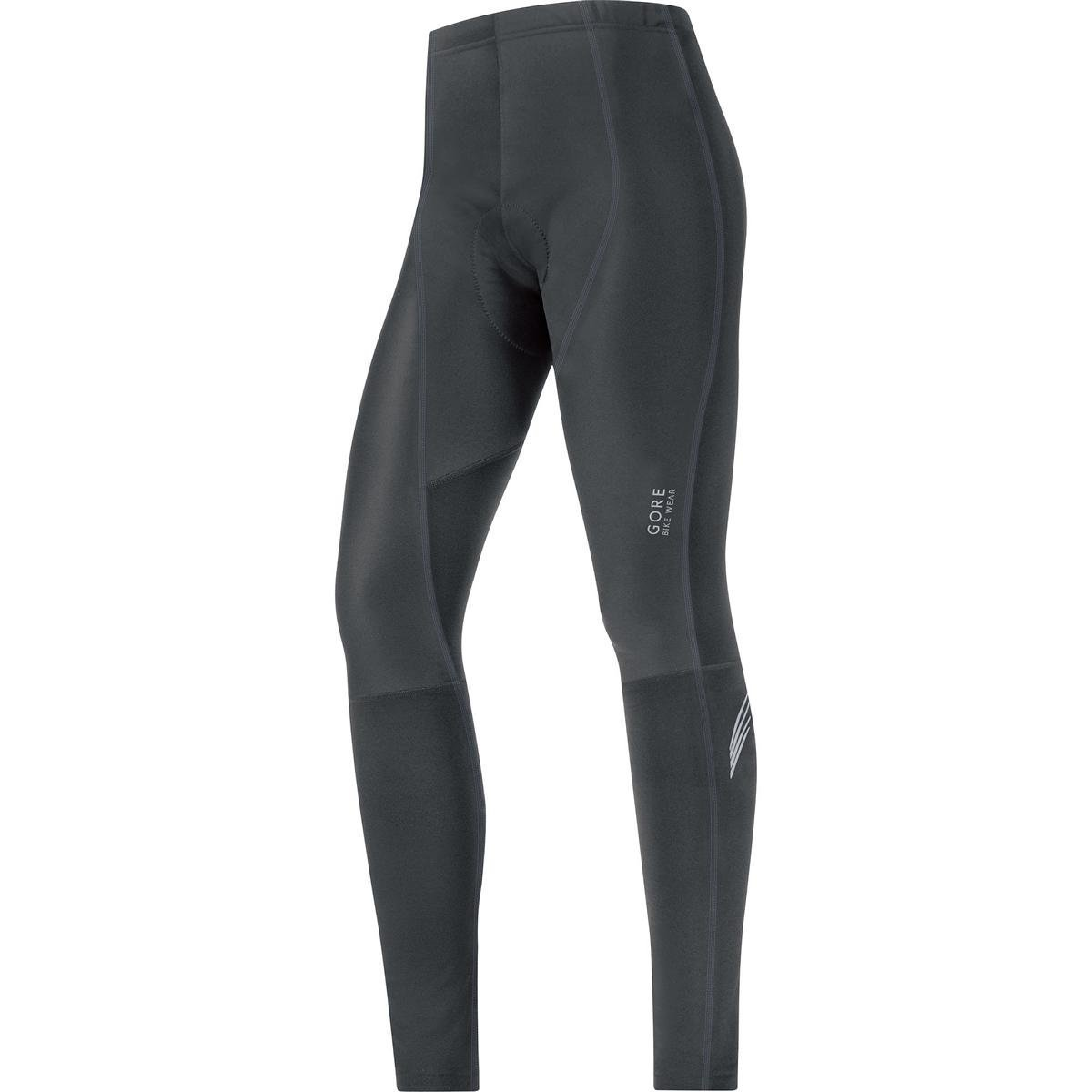 GORE BIKE WEAR Women's  lady WINDSTOPPER Soft Shell Tights+, Black, Small