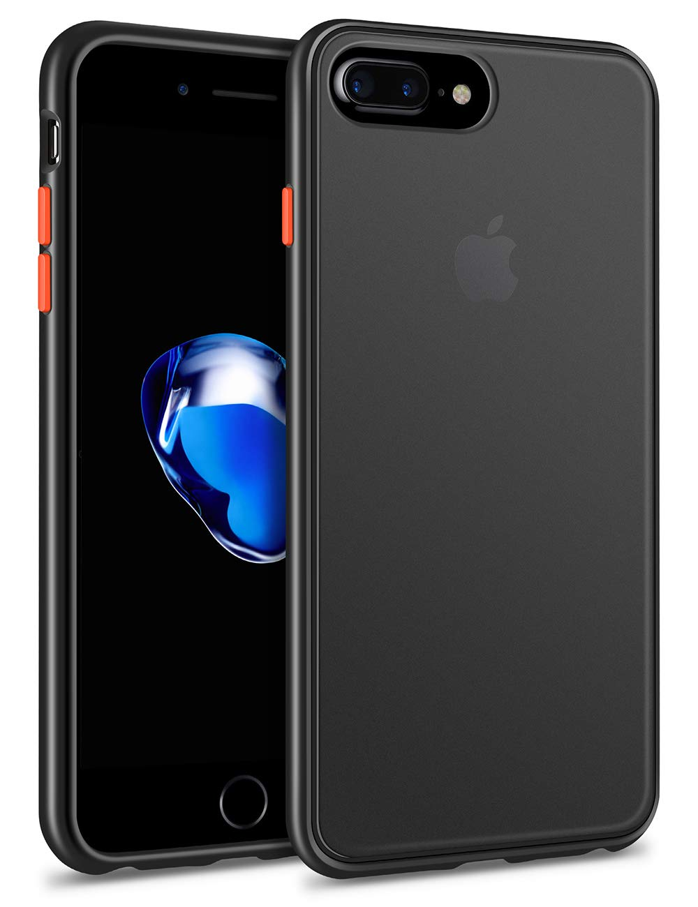 CHEERINGARY Case for iPhone 11 Case Protective Shockproof Heavy Duty Anti-Scratch Cover iPhone 11 Case for Men Women Full Body Protection Dust Proof Anti-Slip Cover for iPhone 11 6.1 inches Deep Black