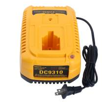 Lasica 18V DC9310 Fast Battery Charger for Dewalt 7.2V-18V NI-CD NI-MH Battery XRP DC9096 DC9099 DW9099 DW9095 DW9096 DW9098 DC9098 DW9091 DC9091 DW9072 DC9071 DW9061 DE9057 DeWalt 18V Battery Charger