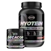 Myotein Protein Powder (Choc, 2lb) & Decacor - Best Whey Protein Powder/Shake - Hydrolysate, Isolate, Concentrate & Micellar Casein