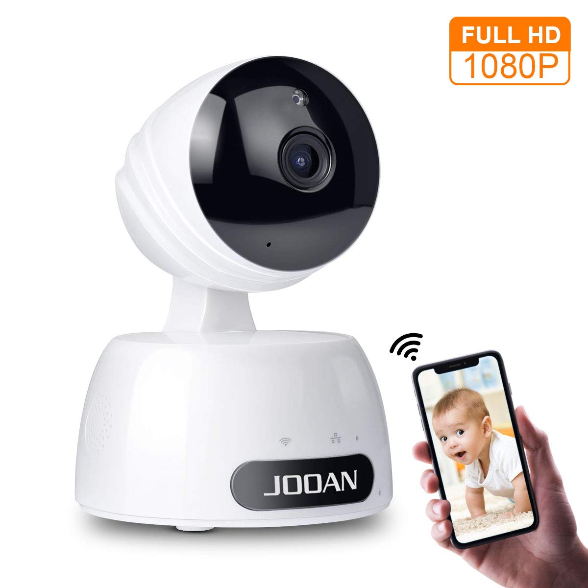 1080P Home Security Camera 2MP HD WiFi IP Camera Wireless Surveillance Camera System Great As A Baby/Pet Monitor with Two Way Audio Remote Access Night Vision and Motion Detection Alerts