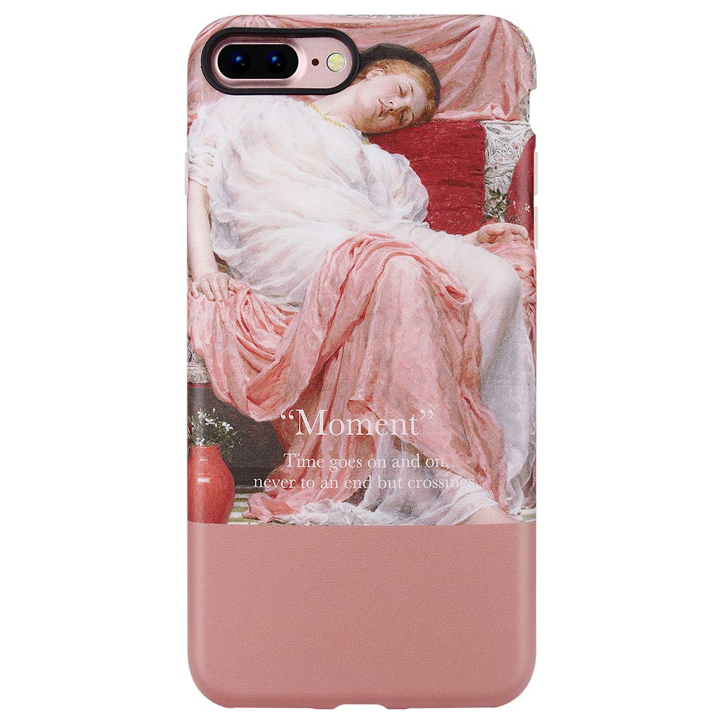 """GOLINK iPhone 7 Plus Case for Girls/iPhone 8 Plus Art Case, Oil Painting Series Slim-Fit Shockproof Dust Proof Shiny TPU Case for iPhone 7/8 Plus 5.5""""(Asleep Girl)"""