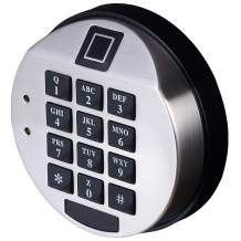 Electronic Biometric keypad Fingerprint Reader Safe Lock,Fingerprint Recognition Lock for Safe Quick Access Opening