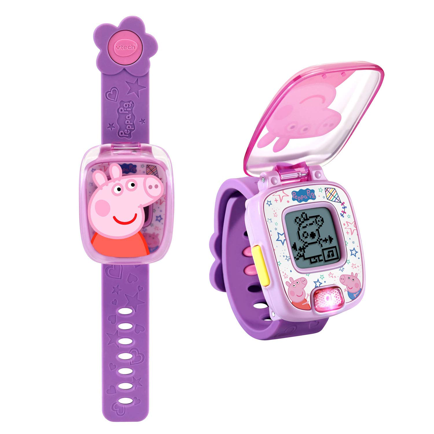VTech Peppa Pig Learning Watch, Blue, Great Gift for Kids, Toddlers, Toy for Boys and Girls, Ages 3, 4, 5, 6
