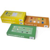 3Doodler EDU Start Learning Pack, Half Set (2019 Version), with X6 3D Printing Pen + X600 Strands of Plastic Filament + Class Activity Plans