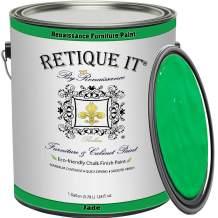 Retique It Chalk Furniture Paint by Renaissance DIY, Gallon, 47 Jade