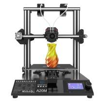 GEEETECH New A20M 3D Printer with Mix-Color Printing, Integrated Building Base & Dual extruder Design, Filament Detector and Break-resuming Function, 255×255×255mm³, Prusa I3 Quick Assembly DIY kit.