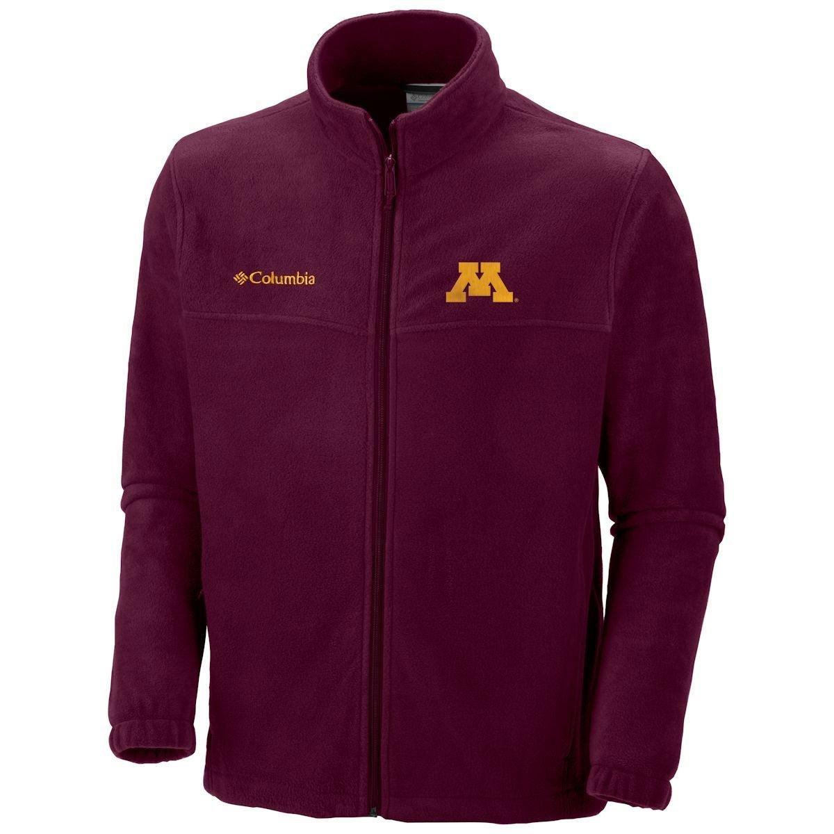 NCAA Michigan Wolverines Men's Collegiate Flanker II Full Zip Fleece Sweater